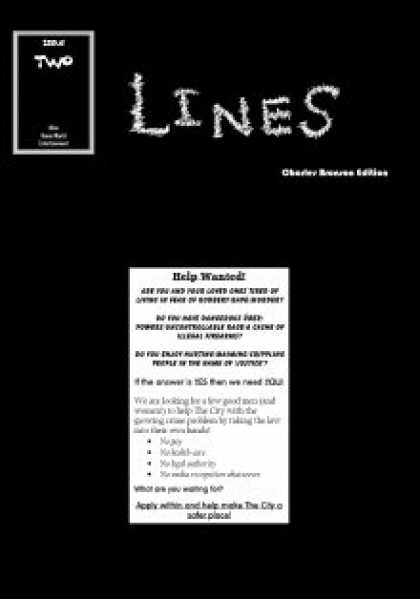 Role Playing Games - Lines - Issue 2