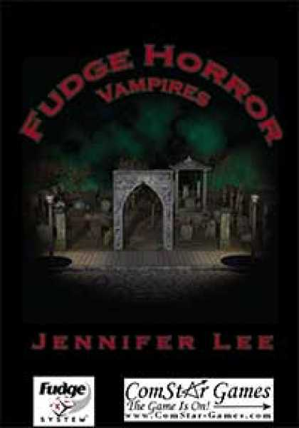 Role Playing Games - Fudge Horror: Vampires