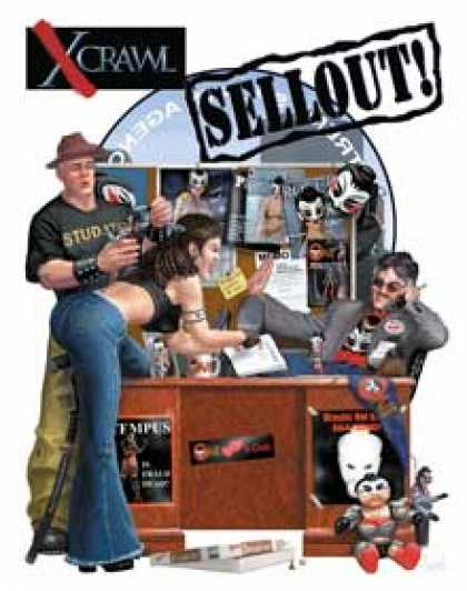 Role Playing Games - Xcrawl: SellOut! A Player's Handbook