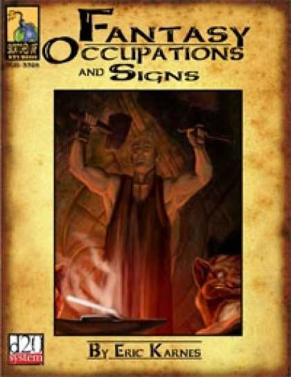 Role Playing Games - Fantasy Occupations & Signs