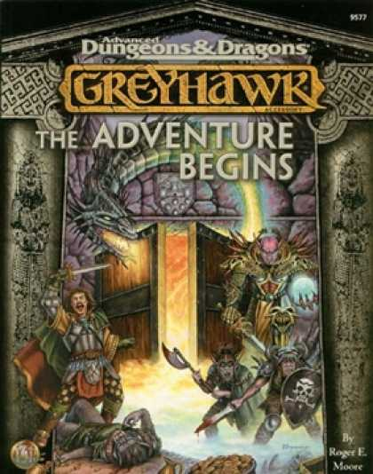 Role Playing Games - Greyhawk: The Adventure Begins