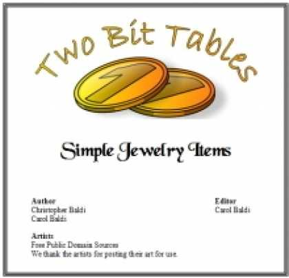 Role Playing Games - Two Bit Tables: Simple Jewelry Items