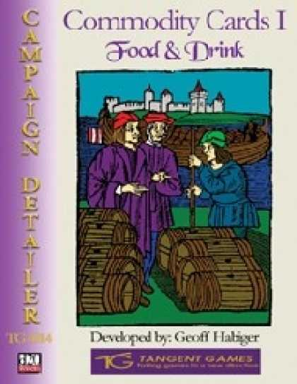 Role Playing Games - Commodity Cards I: Food and Drink