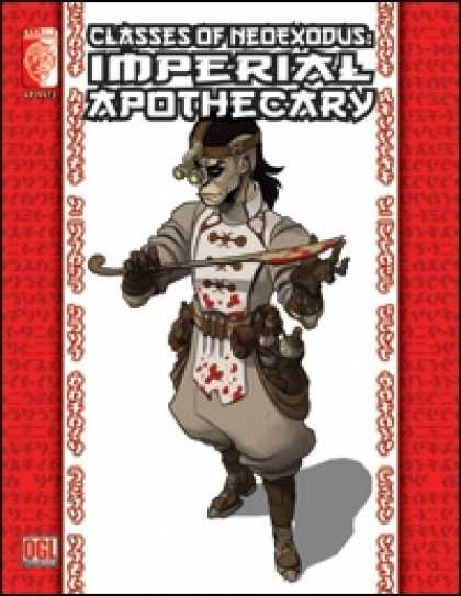 Role Playing Games - Classes of NeoExodus: Imperial Apothecary