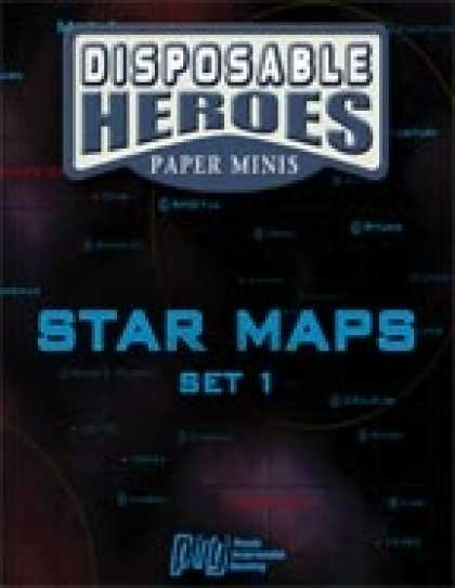 Role Playing Games - Disposable StarMaps: Set 1