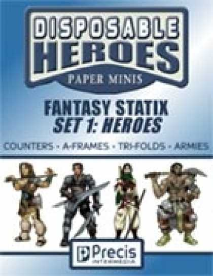 Role Playing Games - Disposable Heroes Fantasy Statix 1: Heroes