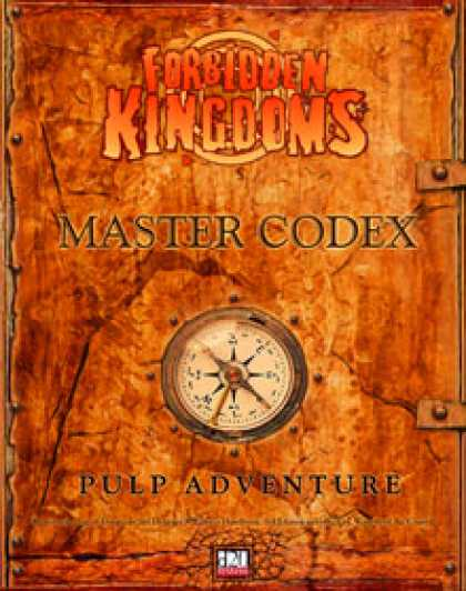 Role Playing Games - Forbidden Kingdoms - Master Codex Babbage Edition