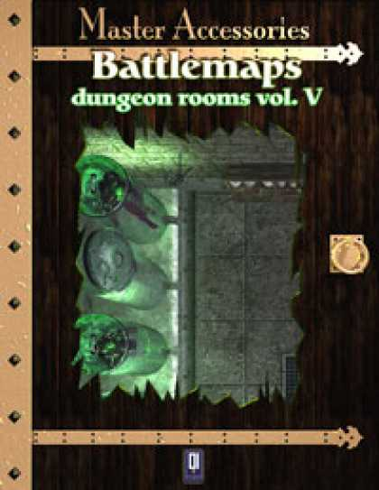Role Playing Games - Battlemaps: Dungeon Rooms Vol.V