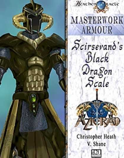 Role Playing Games - Scirsevand's Black Dragon Scale