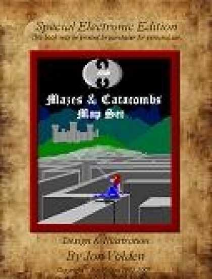 Role Playing Games - 18 Mazes & Catacombs Map Set