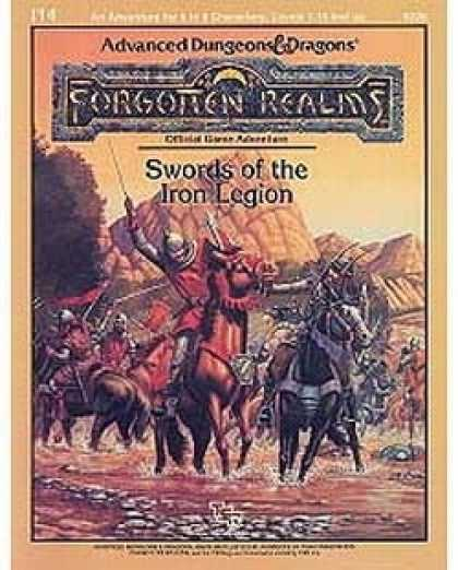 Role Playing Games - I14 - Swords of the Iron Legion