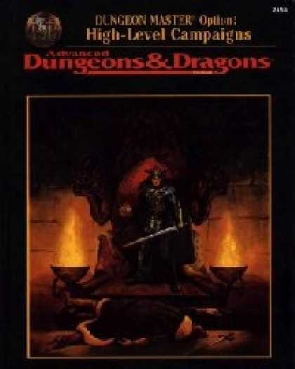 Role Playing Games - Dungeon Master's Options: High Level Campaigns