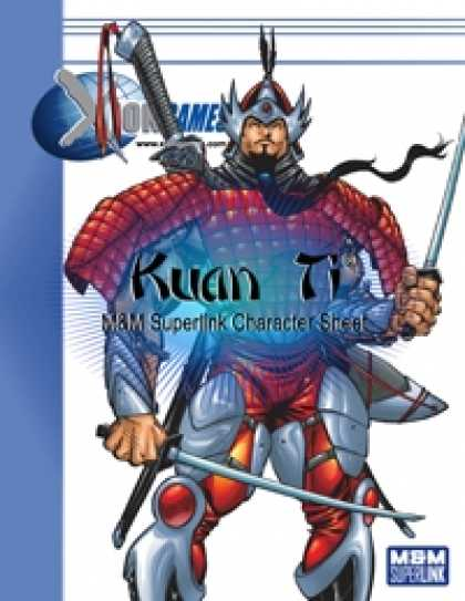 Role Playing Games - Kuan Ti? Character Sheet (M&M Superlink)