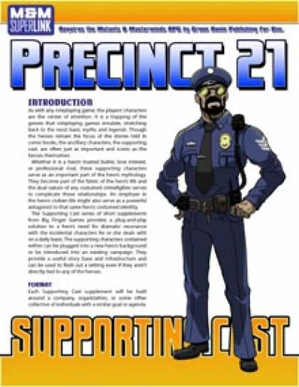 Role Playing Games - Supporting Cast: Precinct 21