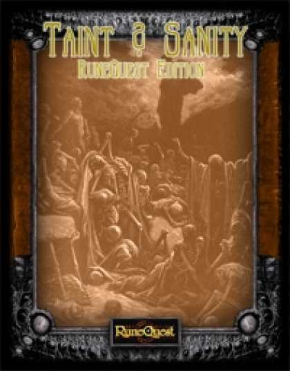 Role Playing Games - (RuneQuest) Taint and Sanity