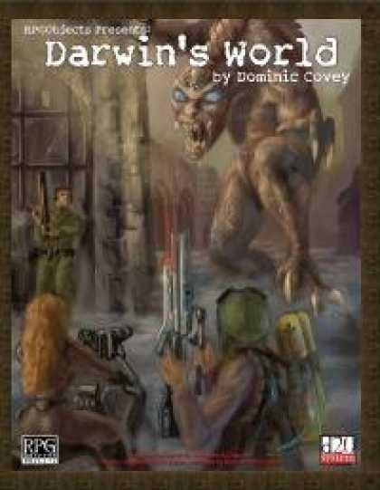 Role Playing Games - Darwin's World (1st Edition)