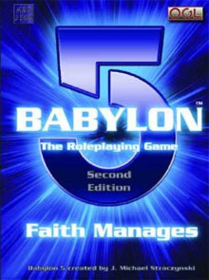 Role Playing Games - Babylon 5 RPG 2nd Edition