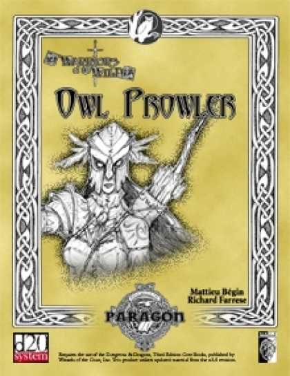 Role Playing Games - Owl Prowler