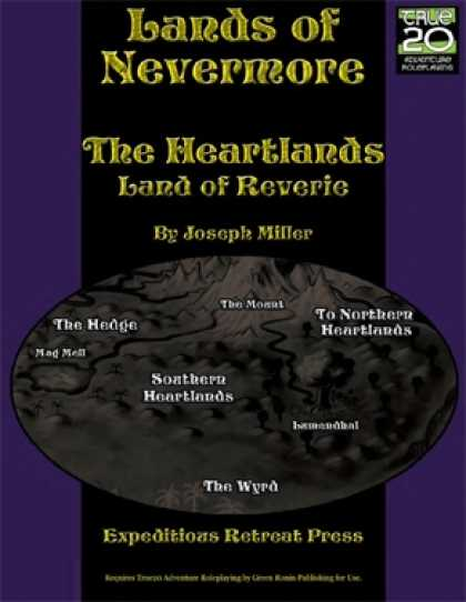 Role Playing Games - Lands of Nevermore: The Heartlands