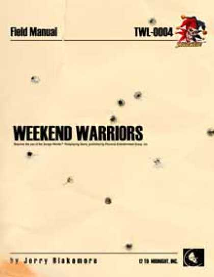 Role Playing Games - Weekend Warriors: Savaged edition