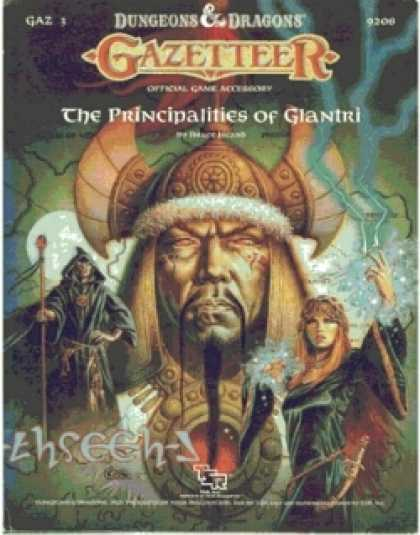 Role Playing Games - GAZ3 - The Principalities of Glantri