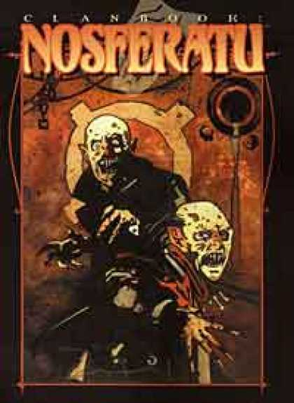 Role Playing Games - Clanbook: Nosferatu - Revised Edition
