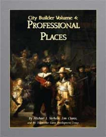Role Playing Games - City Builder Volume 4: Professional Places