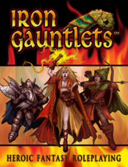 Role Playing Games - OGL to Iron Gauntlets conversion rules