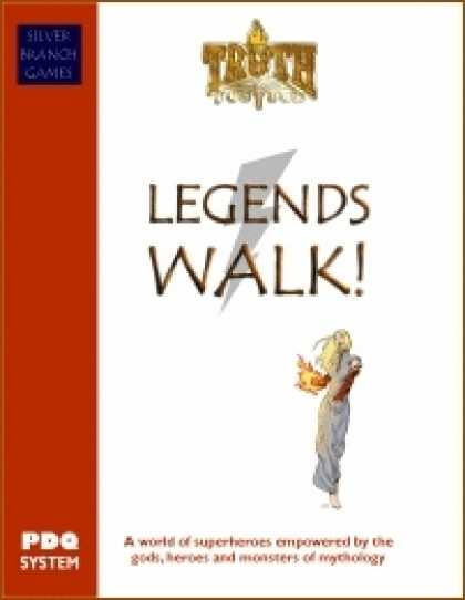 Role Playing Games - Legends Walk - Truth & Justice Edition
