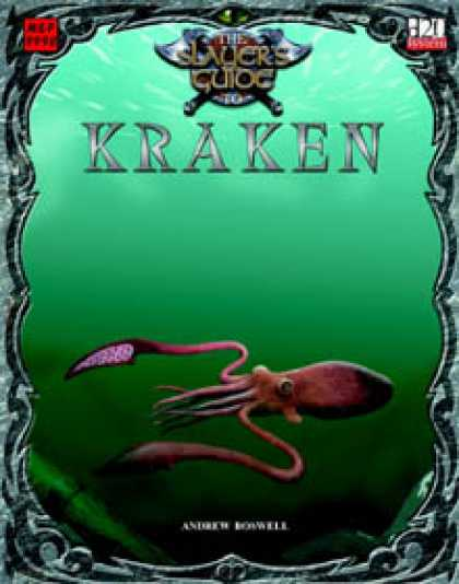 Role Playing Games - Slayer's Guide to Kraken