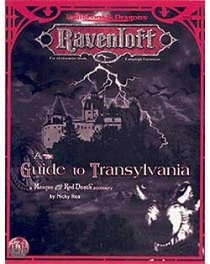 Role Playing Games - A Guide to Transylvania