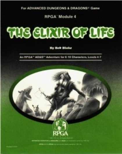 Role Playing Games - RPGA4 - The Elixir of Life