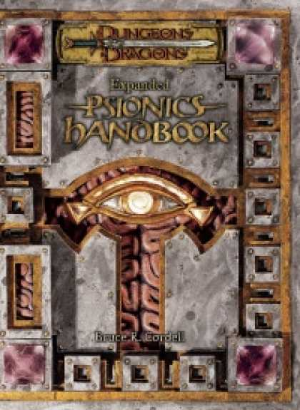 Role Playing Games - Expanded Psionics Handbook
