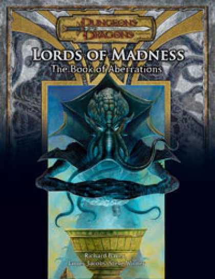 Role Playing Games - Lords of Madness: The Book of Aberrations