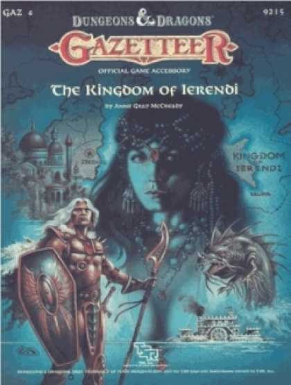 Role Playing Games - GAZ4 - The Kingdom of Ierendi