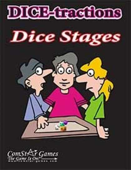 Role Playing Games - DICE-tractions - Dice Stages