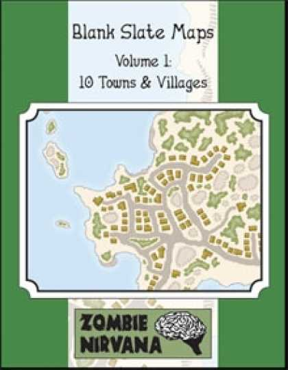 Role Playing Games - Blank Slate Maps Vol. 1: 10 Towns & Villages