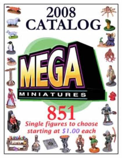 Role Playing Games - Mega Miniatures 2008 CATALOG