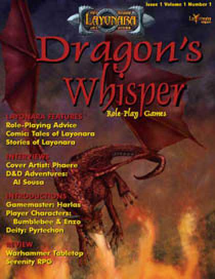 Role Playing Games - Dragon's Whisper