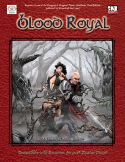 Role Playing Games - Blood Royal
