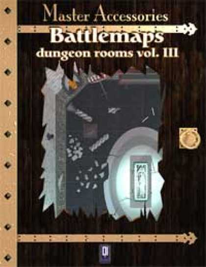 Role Playing Games - Battlemaps: Dungeon Rooms Vol.III