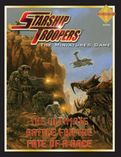 Role Playing Games - Starship Troopers: Miniatures Game (Hardback Edition)