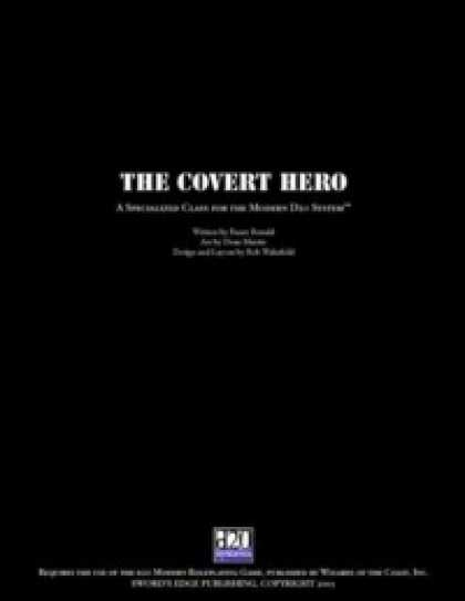 Role Playing Games - Covert Hero
