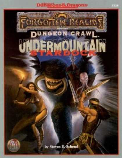 Role Playing Games - Undermountain: Stardock