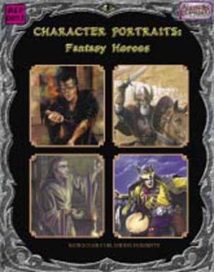 Role Playing Games - Character Portraits: Fantasy Heroes