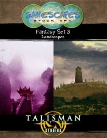 Role Playing Games - Gamescapes: Stock Art, Fantasy Set 3