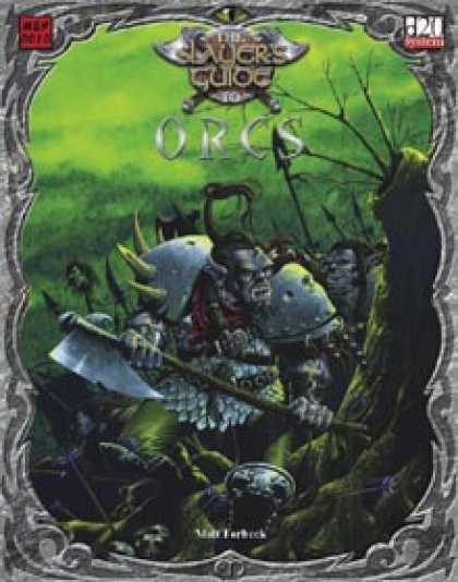 Role Playing Games - Slayer's Guide to Orcs