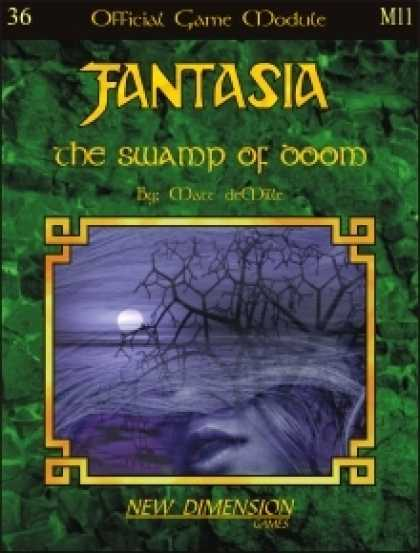 Role Playing Games - Fantasia: The Swamp Of Doom--Module M11