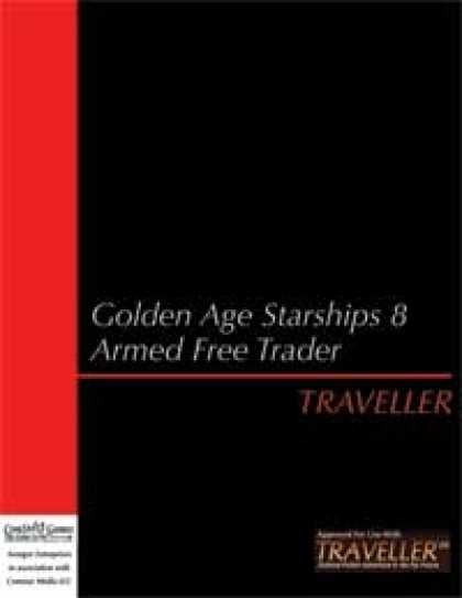 Role Playing Games - Traveller - Golden Age Starships 8: Armed Free Trader