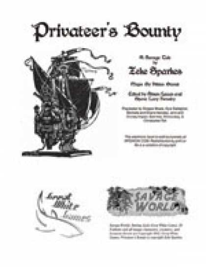 Role Playing Games - Savage Tales #1: Privateer's Bounty!